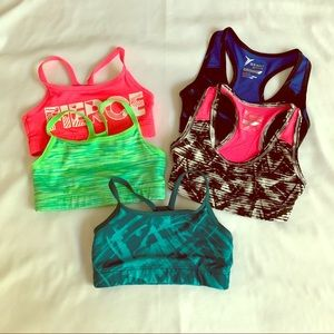 Old Navy Bundle of 5 Girl's Sports Bras